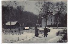 CPA -69- LYON sous la neige. - Parc de la Tête d'Or - L'Observatoire.