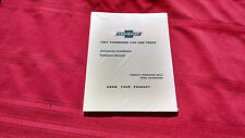 1957 57 CHEVY CHEVROLET PASSANGER CAR AND TRUCK  ACCESSORY MANUAL, NICE