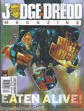 Judge Dredd Magazine Ratfinks Revenge Killer Elite Snapshot Stone Voices 2012
