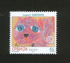 SERBIA-MNH** STAMP- JOY OF EUROPE-FAUNA-2012.