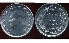 TURQUIE   10 lira 1988