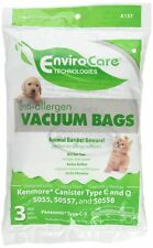 9 Kenmore HEPA Canister Type C, Q, 50558 50555 50557 Sears Vacuum Bags, Canister