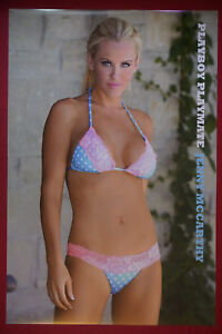 Playboy Playmate Centerfold Jenny McCarthy Sexy Swimsuit Model Poster 24X36 JMSW
