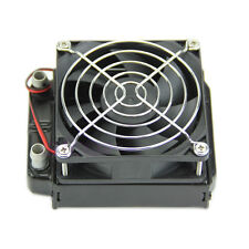 For CPU LED Heatsink 80mm Aluminum Water Cooling Cooler Computer Fans Radiator