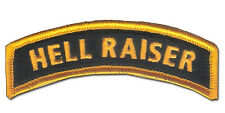 Hook & Loop US Ranger Colors - HELL RAISER Tab - US Special Forces, US Infantry