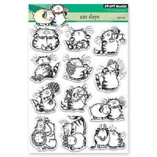 PENNY BLACK RUBBER STAMPS CLEAR CAT DAYS NEW clear STAMP