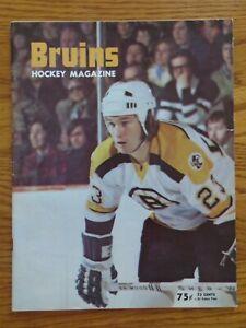 BOSTON BRUINS vs MONTREAL CANADIENS 1974 Program BOBBY ORR PHIL ESPOSITO