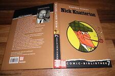 Manfred Schmidt -- NICK KNATTERTON // Comic Bibliothek  # 7 / Hardcover von 2005