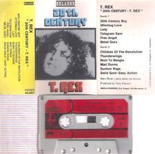 T. REX 20Th Century RARE  SPANISH cassette  PAPER LABEL  SPAIN MARC BOLAN