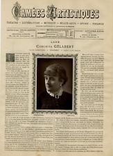 Goupil, France, Camées Artistiques, Conchita Gélabert vintage print Photoglypt