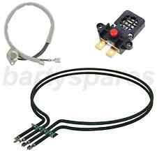 White Knight Tumble Dryer Heating Heater Element & Inlet & Reset Thermostat Kit