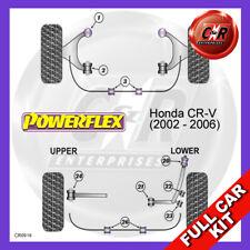 Honda CR-V (02-06) Rear Upper Arm Outer Bushes, Camber Powerflex Full Bush Kit
