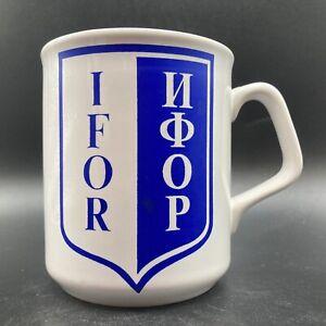 Vintage IFOR Ceramic Mug Made For Naafi By Ashridge Ceramics Made In England