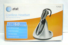 AT&T DECT 6.0 Digital Cordless Headset Up To 500 Feet Of Range TL7600