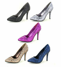 High Heel (3-4.5 in.) Spot On Synthetic Shoes for Women