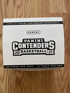 2020-2021 PANINI CONTENDERS NBA BASKETBALL Cello Value Fat Pack Lot Of 12