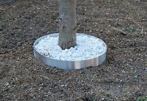 Beeteinfassung Edelstahl 1,5 mm 100 mm hoch Baum Beet  schwere Ausführung NEU