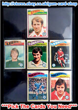 ☆ Topps 1978 Football Orange Back Cards 325 to 378 (G) *Please Choose Cards*