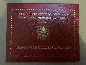 2 Euro Vatikan Gedenkmünze 2015 - 8. Weltfamilientreffen