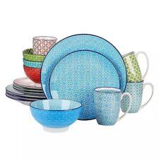 Vancasso Macaron 16-Pcs Porcelain Dinnerware Set 4*Dinner Plate,Dessert Mug...
