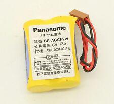 1 x Panasonic BR-AGCF2W 6V 2200mAh Battery For GE FANUC PLC A98L-0031-0011#L
