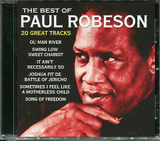 THE BEST OF PAUL ROBESON CD - OL' MAN RIVER, SWING LOW SWEET CHARIOT & MORE