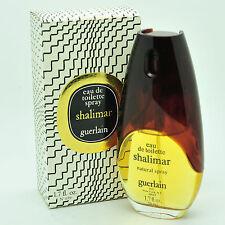 Vintage Guerlain Shalimar 50ml Eau de Toilette spray 50 years old