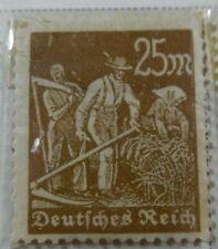Germany 1923 Stamp 25 Mark MNH Stamp Rare Antique Excellent StampBook1-140