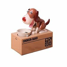 Dog Style Coin Money Box Piggy Bank Collecting Saving Money Ban... Free Shipping