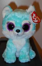 """Ty Beanie Boos ~ JADE the Wolf 6"""" (Great Wolf Lodge Exclusive) NEW"""