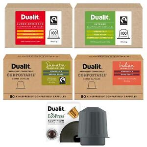 Dualit Coffee Capsules & Recycler In Different Type Flavours & Pack Size