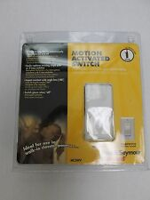 PASS&SEYMOUR MOTION ACTIVATED SWITCH 1 MIN AUTO OFF (WHITE)  MCSWV