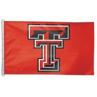 WinCraft Texas Tech Red Raiders 3' x 5' Single-Sided Horizontal Flag