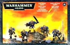 Warhammer 40K - Space Marine Scout Squad  - Brand New in Box! - 48-16