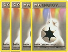 4X Double Colorless Energy 90/108 Pokemon XY Evolutions Mint English (Set of 4)