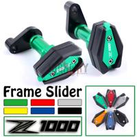 Frame Slider Crash Pad Cover Protector Guard For Kawasaki Z1000SX 2013-2016 2014