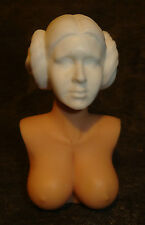 "1/6 12"" Female Custom Carrie Fisher Princess Leia Star Wars Head Sculpt Phicen"