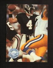 Brett Favre Rookie Card--Atlanta Falcons--1991 Pro Set Platinum Football