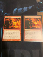 2x Past In Flames Innistrad SP MTG