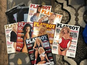 Playboy Magazine 2004 SOME SEALED Pamela Anderson Donald Trump Denise Richards