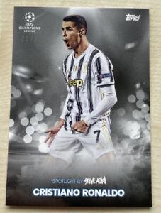 2021 Topps Football Festival Cristiano Ronaldo Spotlight by Steve Aoki /99