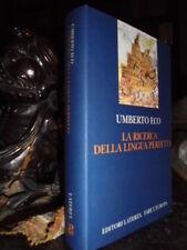 (Linguistica) La ricerca della lingua perfetta nella cultura europea.ECO Umberto