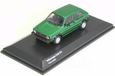 Kyosho 1/64 VW Golf GTI Green Metallic 1974 Volkswagen 2 car Collection 2015