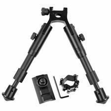 Rifle Bipods Adjustable 6-9/6.3-6.9 inch Fit Picatinny Rail Hunting Gun Black