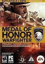 Medal of Honor Warfighter Project Honor Edition PC Game  NEW & Sealed