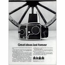 1981 Hasselblad: Great Ideas Last Forever Vintage Print Ad
