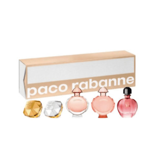 Paco Rabanne Miniatures Women's Gift Set x5 (Lady Million, Lady Million Lucky, O