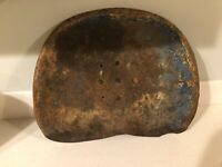 Antique Metal Tractor Seat RUSTIC Ranch