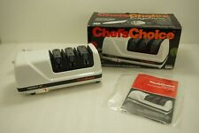 Chef's Choice Edge Select 120 Kitchen Knife Sharpener 3 Slot Daimond Sharpener
