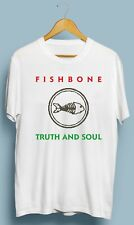 Vintage Fishbone Truth and Soul Band Retro T-Shirt Gildan Size S M L XL 2XL